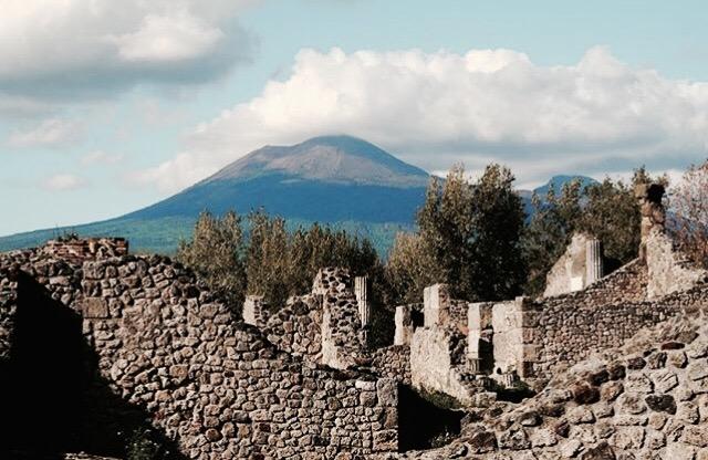 Napels: Vesuvius