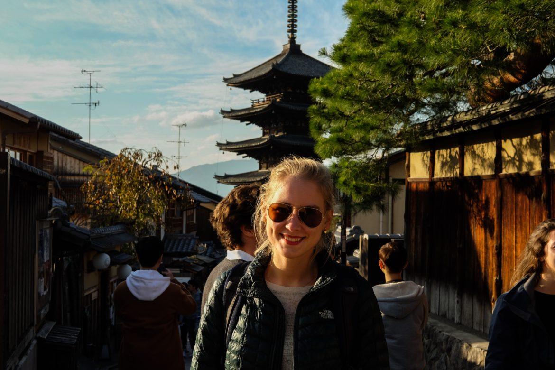 Japan: Charlotte in Kyoto