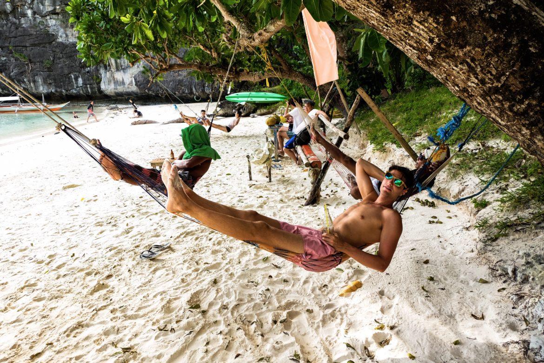 Filipijnen: ries in hangmat