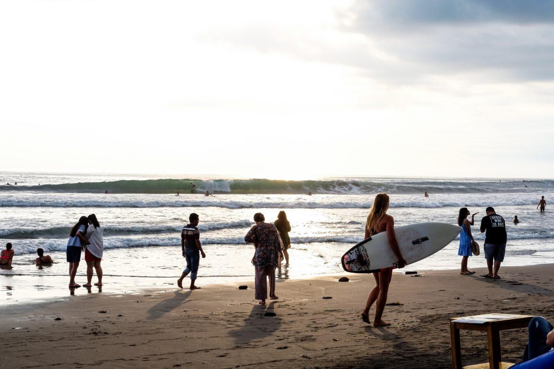 Bali: canggu echo beach
