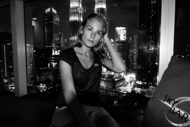 Maleisie: Bij Sky Bar met uitzicht op de Petronas Twin Towers