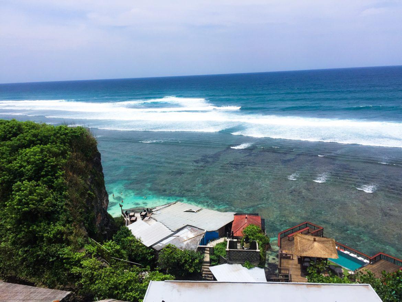 Bali: Het uitzicht bij Single Fin