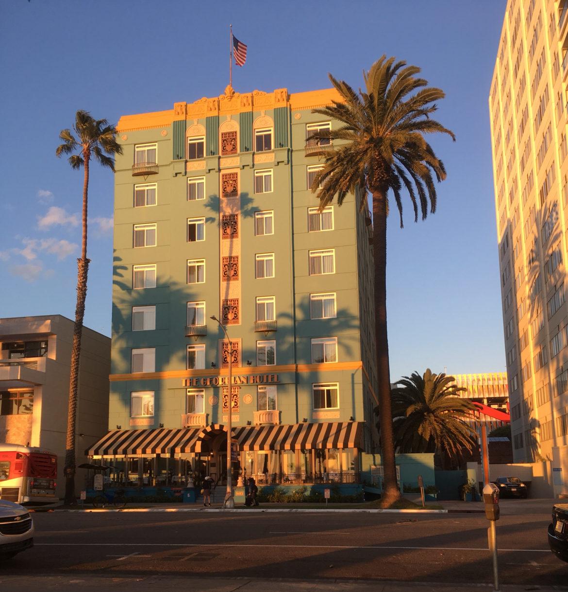 USA: The Georgian Hotel