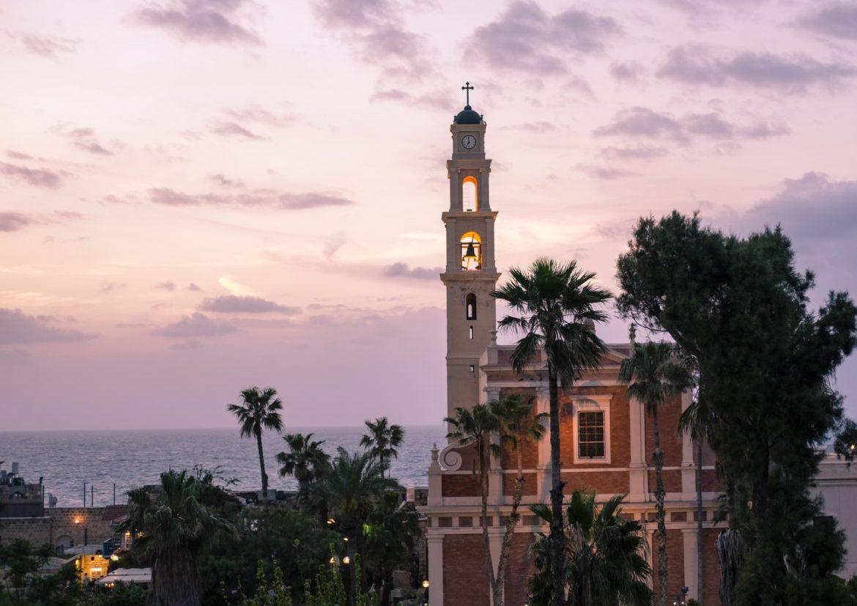 Israel: jaffa church 1