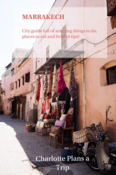 Morocco Marrakech City Guide