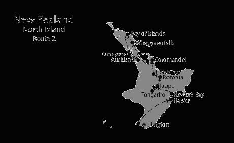 New Zealand North island Itinerary 2 weeks 1