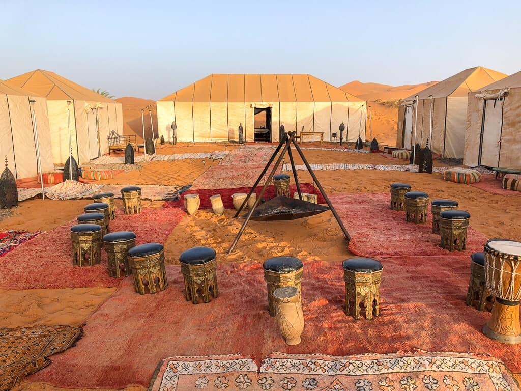 Marokko Merzouga desert camp