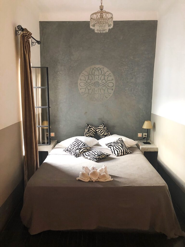 Morocco Marrakech Riad la parenthese room
