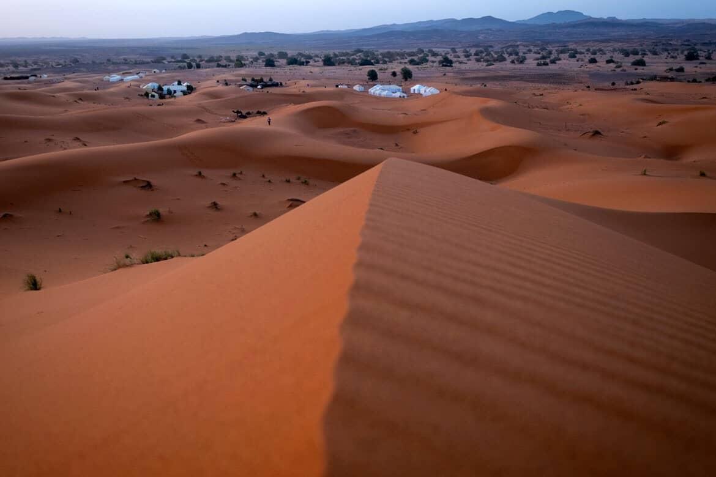 Merzouga desert track