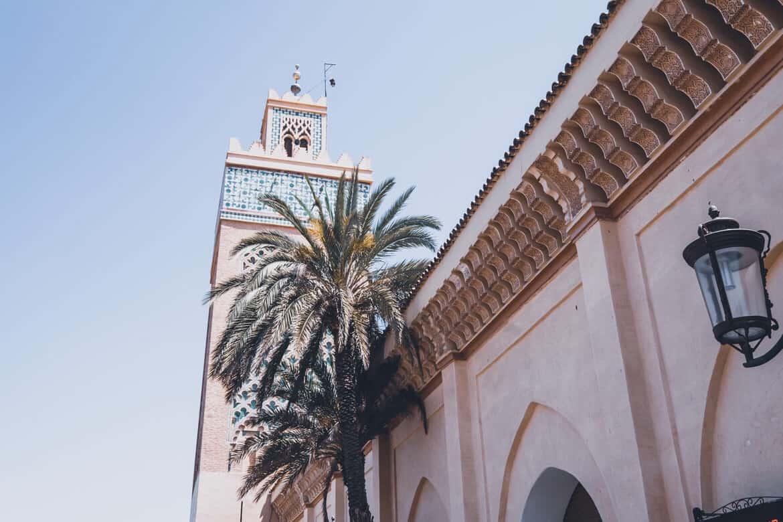 Morocco Marrakech buildings