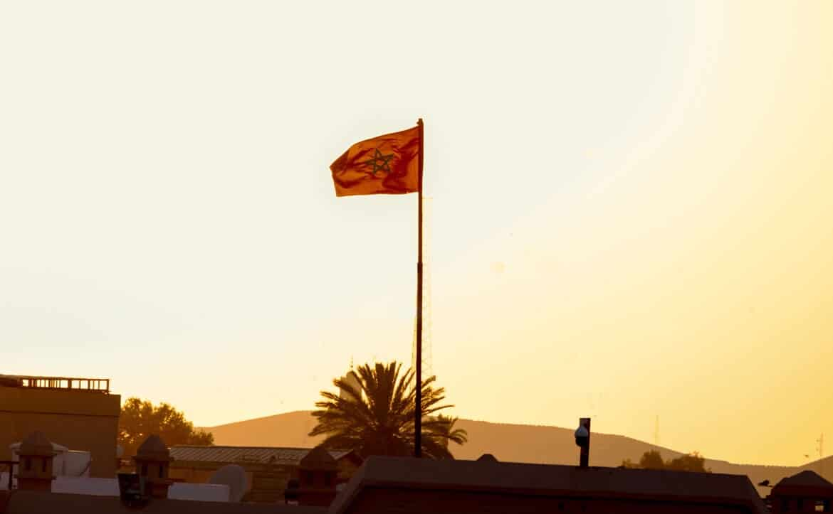 Morocco Marrakech flag