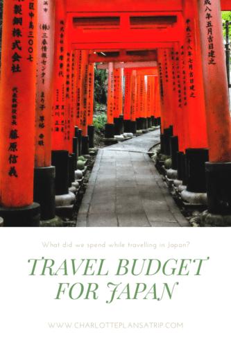 Travel Budget Japan
