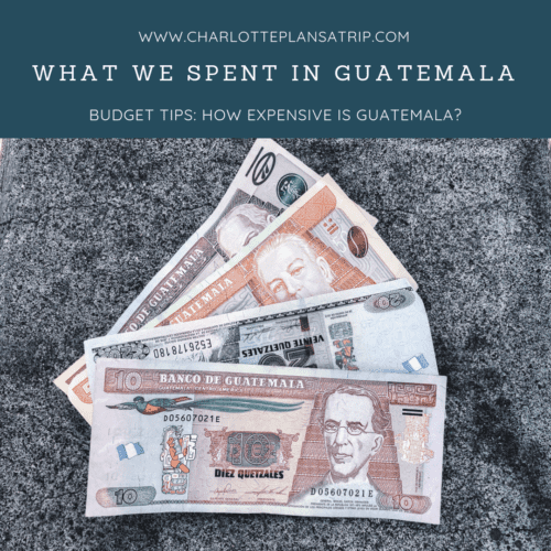 What did we spend in Guatemala?