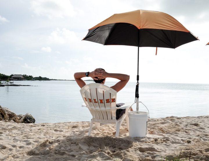 Fotoimpressie van de eilanden voor de kust van Belize