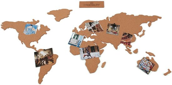 worldmap cork