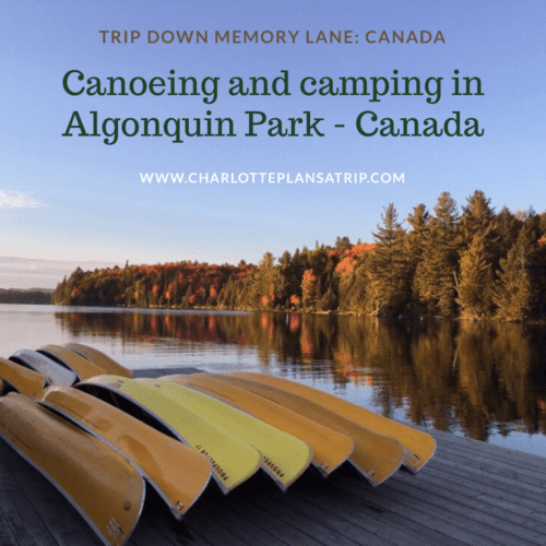 Read all about our canoeing and camping trip in the Algonquin Park in Canada