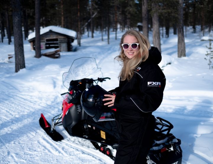 All you need to know about driving a snowmobile in Lapland!