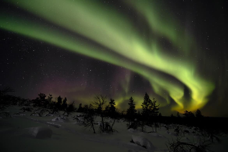 budget of a trip through Lapland