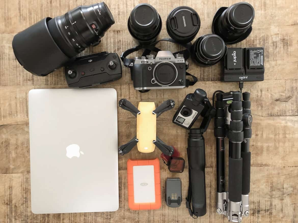 What's in our Camera bag?