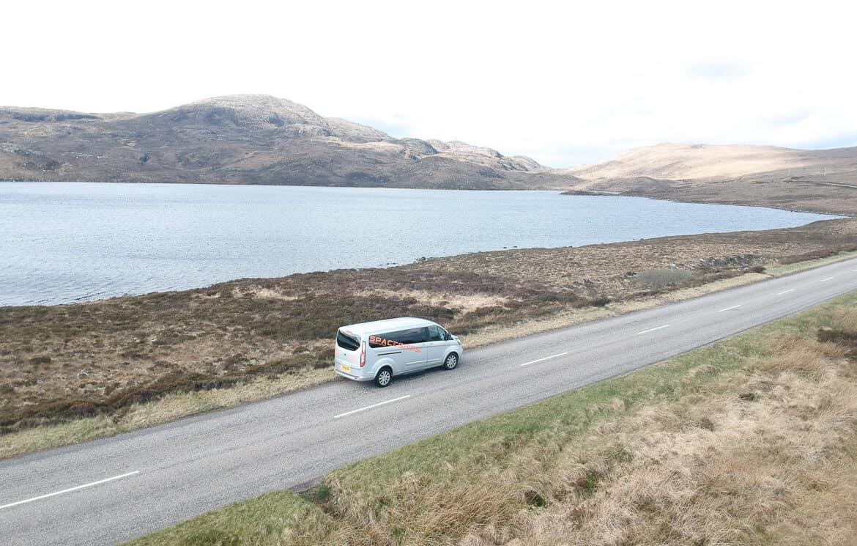 Scotland campervan Wester Ross