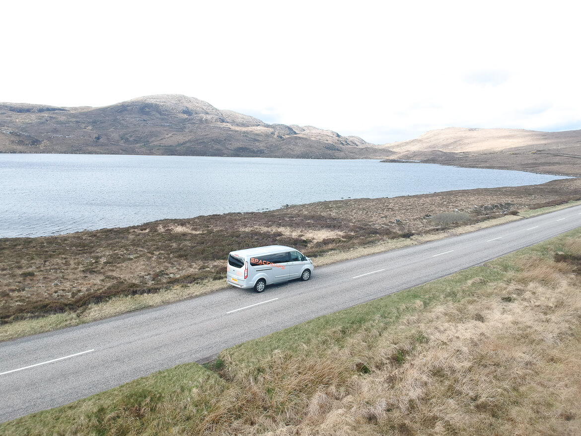 Scotland campervan Wester Ross