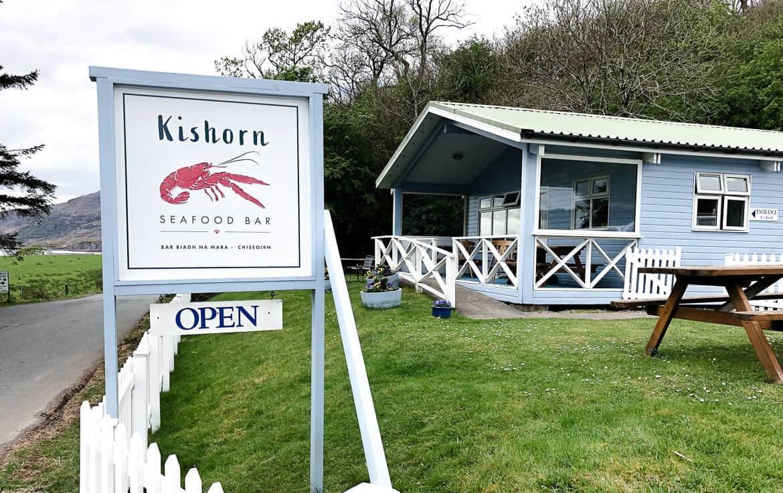 Scotland Kishorn Seafood bar