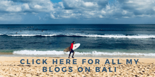 All my travel blogs on Bali