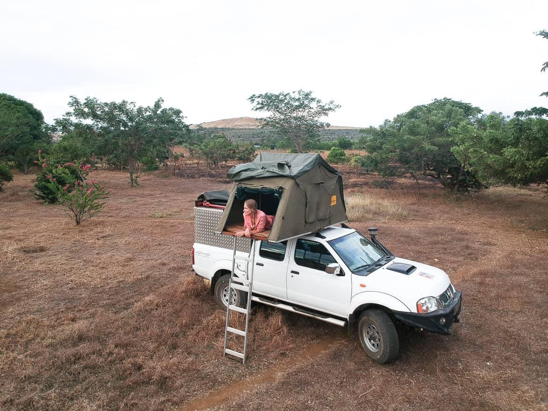 Roadtrip Africa Rooftop tent