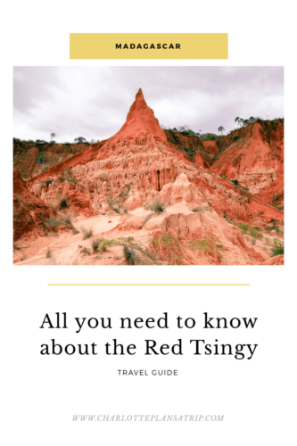 All you need to know about the Red Tsingy in Northern Madagascar