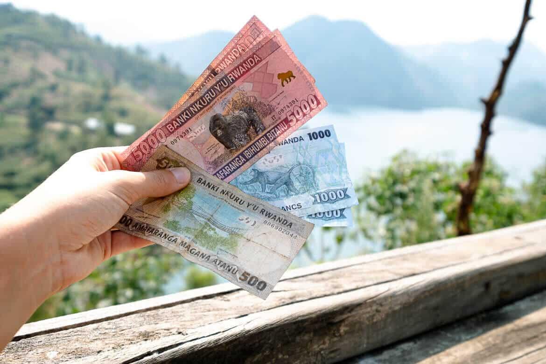What did we spend traveling in Rwanda?