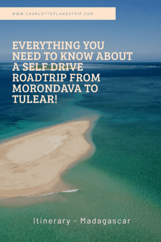 Self drive road trip from Morondava to Tulear