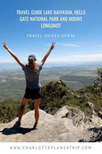 Travel guide Lake Naivasha, Hells Gate National Park and Mount Longonot