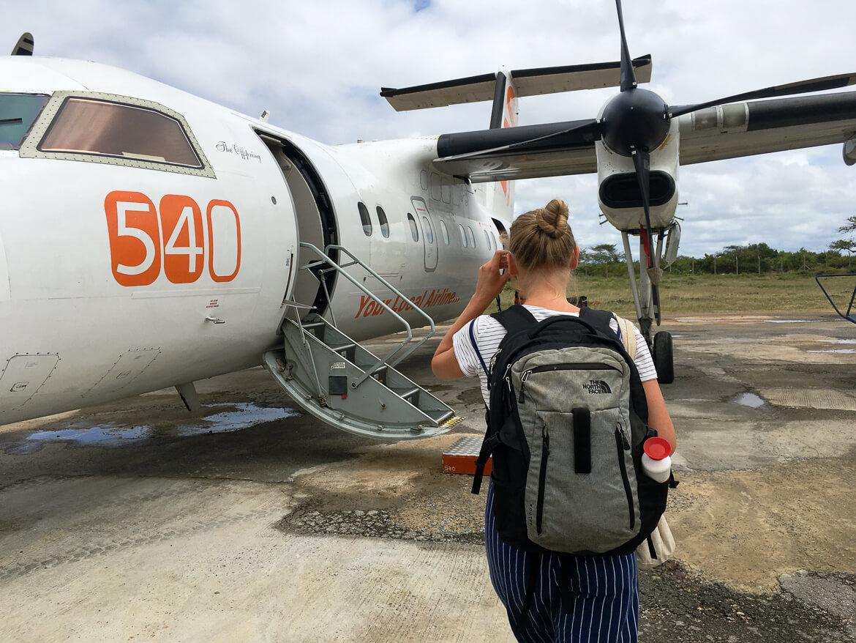 Flight 540 Lamu Kenya