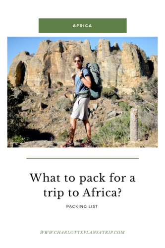 What to pack for a trip to East Africa?