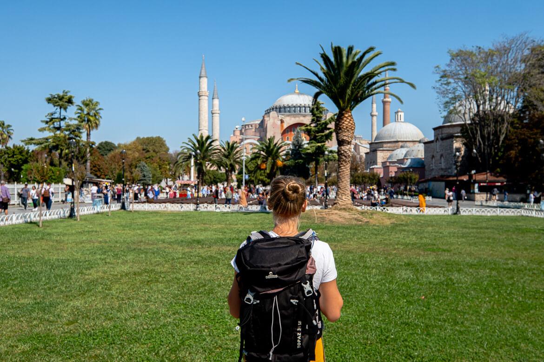 NOMAD Topaz backpack in Istanbul