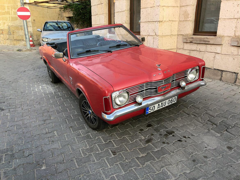 Vintage car Cappadocia