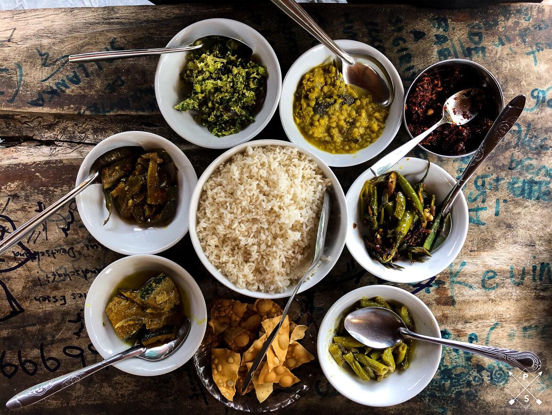 Curry in Sigiriya