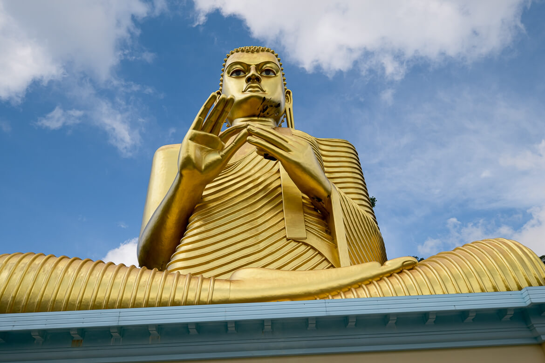 Golden temple Dambulla