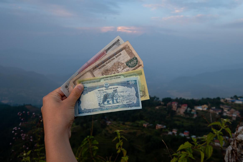 Nepal Rupi Money