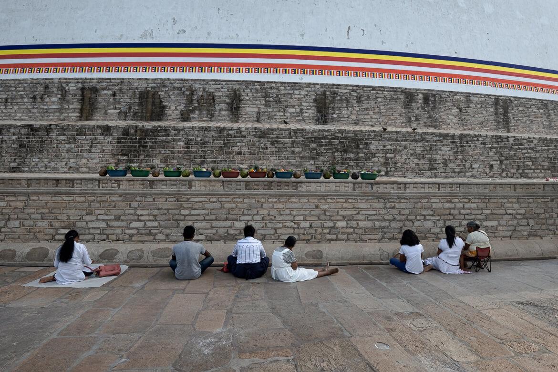 Praying Buddhists