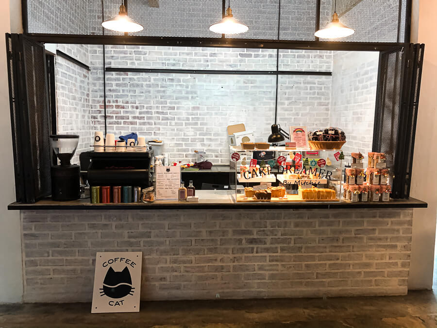Inhouse coffee shop at the row