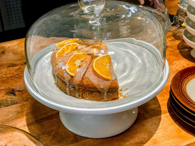 Malaysia Melaka lemon cake