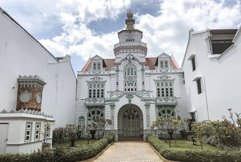 Melaka Chee Acenstral Mansion built by Dutch Architect