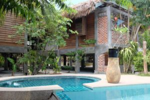 Panji Paji Tropical Wooden Home