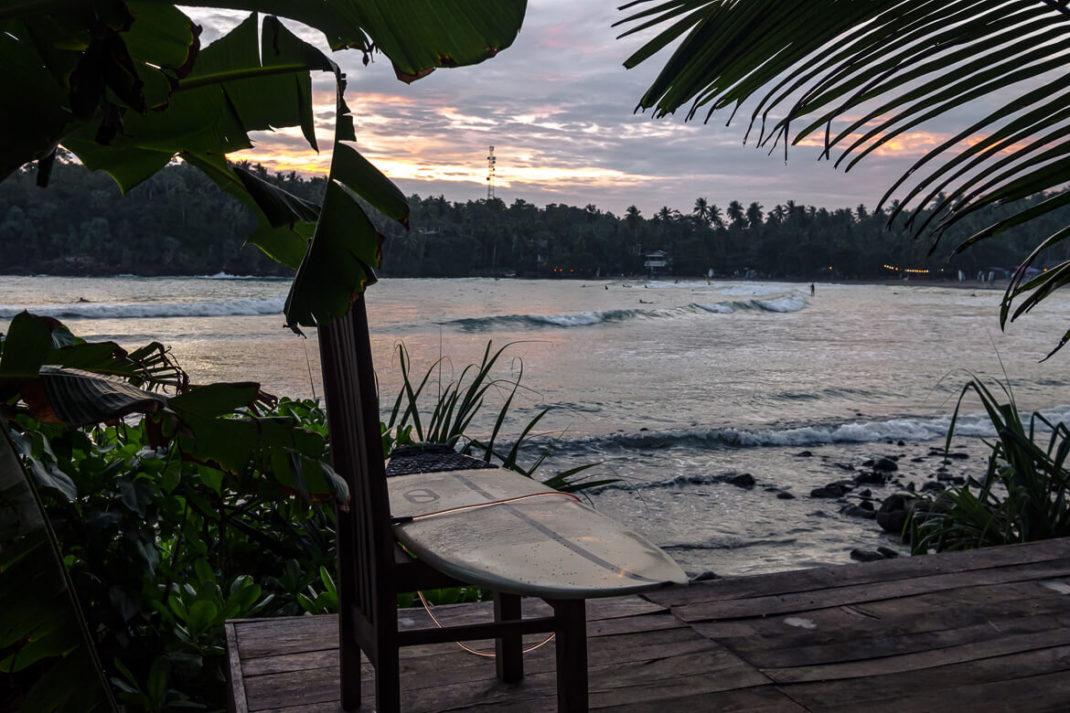 Surf beach Sri Lanka Dickwella