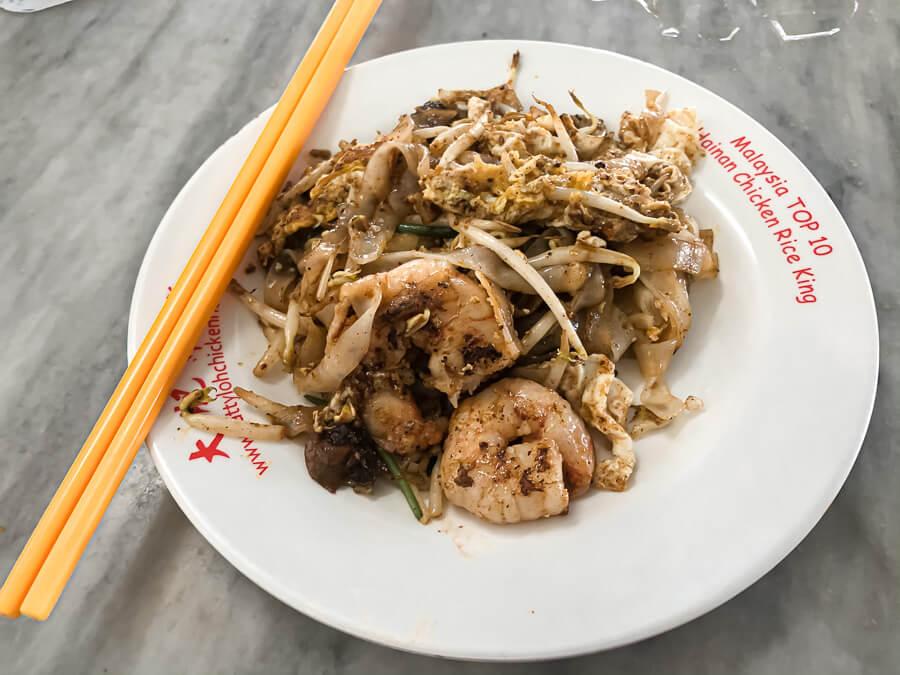 Asian food Temple Penang