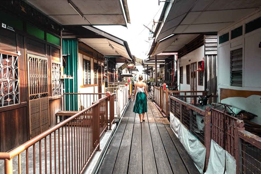 Charlotte and Chew Jetty George Town Malaysia
