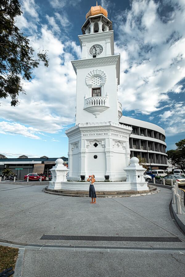Clock Tower George Town Malaysia