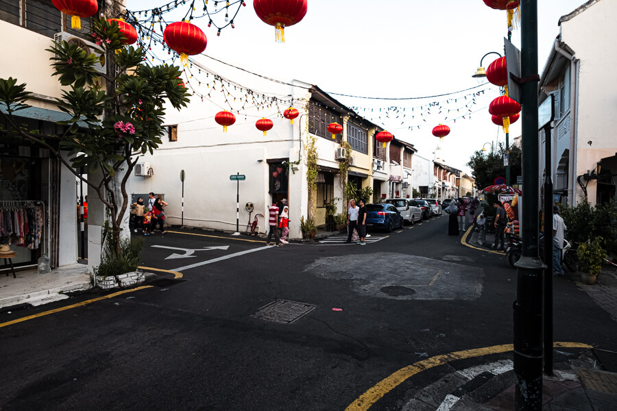 George Town streets Malaysia