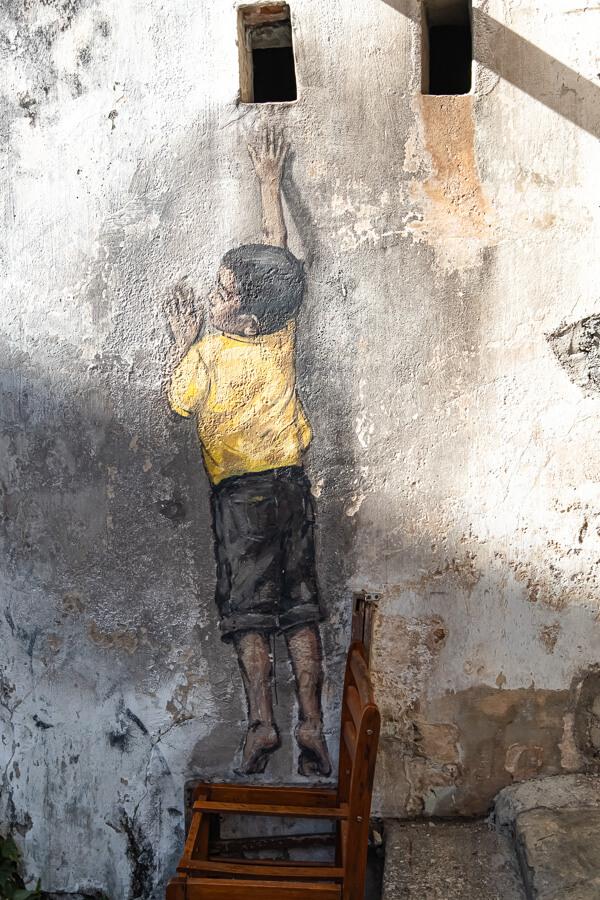 Little Boy Street Art George Town Malaysia